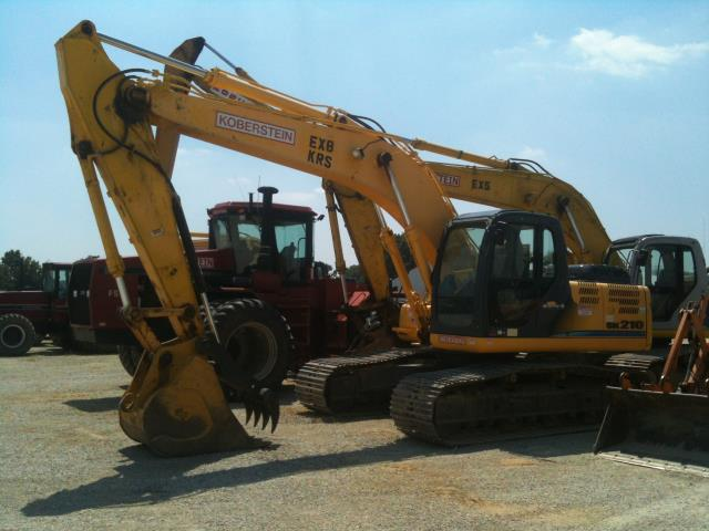 Where to find Excavator Ex8 Sk210-8 Kobelco W 42  Buck in Evansville