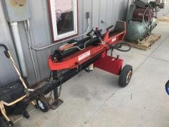 Rental store for Log Splitter  2 8 Hp Dual Position 25ton in Princeton IN