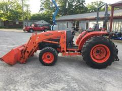 Used Equipment Sales Tractor  3 Kubota 39 Hp L3940 Hst W  Fro in Evansville IN