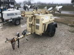 Used Equipment Sales Light Tower Lt04 Diesel 6kw ir Lightsour in Evansville IN