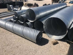 Rental store for PIPE 08 X 20  ALUMINIZED TYPE 2 16GA. in Princeton IN