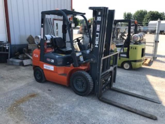 Where to find Fork Lift 5,000lb. Dual Fuel in Evansville