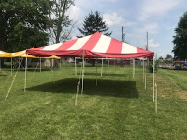Where to find Tent 20  X 20 in Evansville