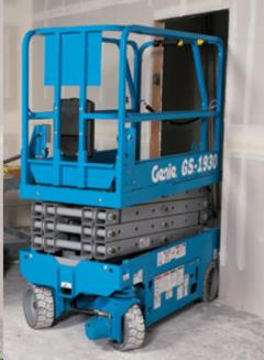Used Equipment Sales Scissor Lift  24 Genie GS1930 in Evansville IN