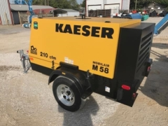 Used Equipment Sales Air Comp  25 Kaeser M58 210 CFM in Evansville IN